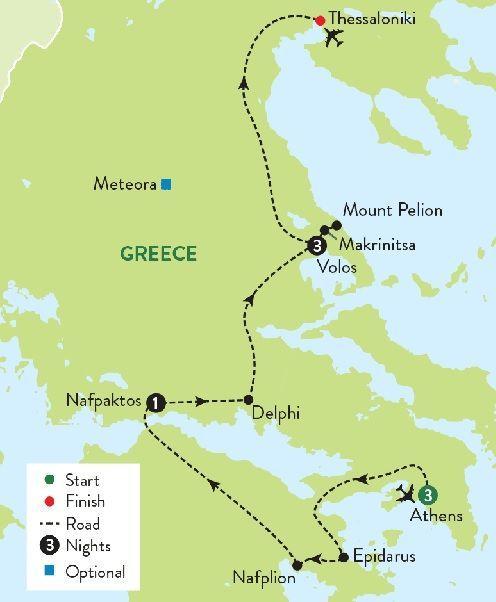 Greece-Athens-Delphi