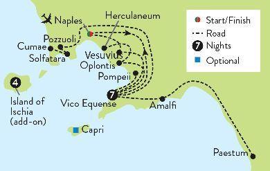 Pompeii, Paestum & Herculaneum