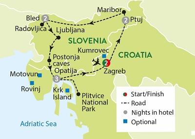 Slovenia Croatia