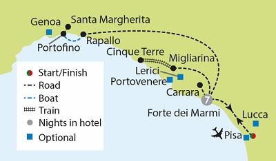 Italian Riviera, Portofino & the Cinque Terre