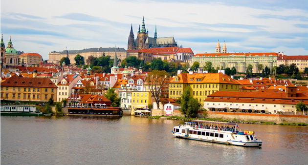 From the Danube Delta to Prague