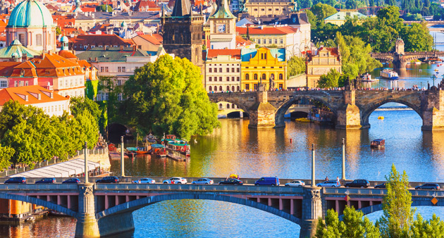 Prague, Budapest and 4-star Cruising the Danube