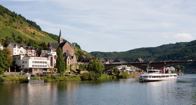 Cruising the River Rhine from Germany to Switzerland