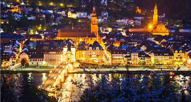 The Rhine in Flames and the Magical Rhine Valley