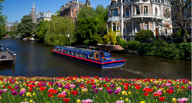 Charms of Holland and Belgium