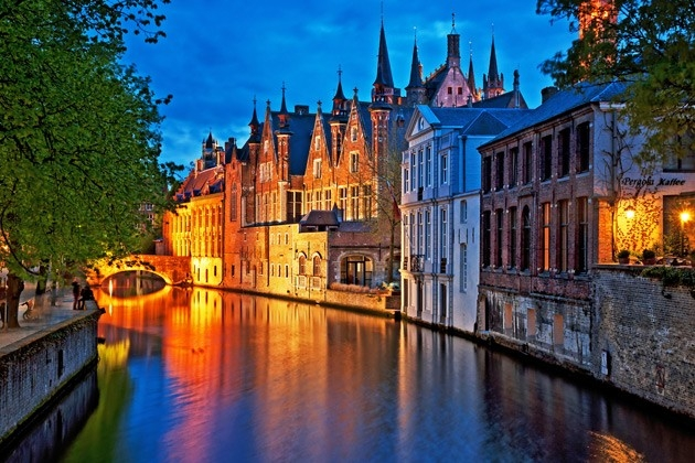 Bruges Christmas.Christmas Break Lille Bruges Coach Holidays Bruges Christmas
