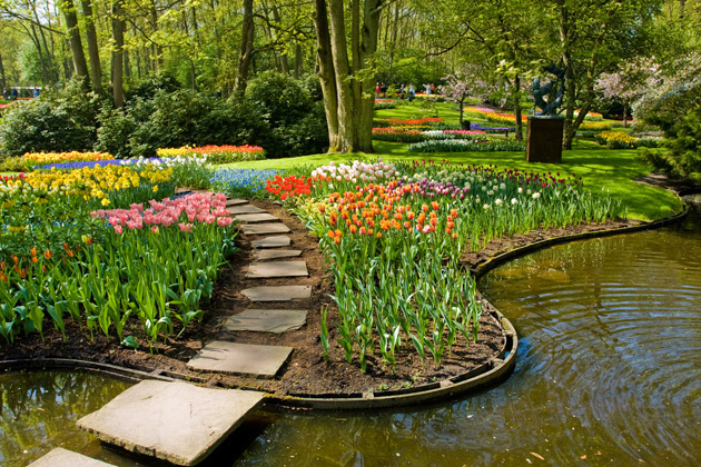 Holland Spring Breaks Keukenhof Gardens Bulbs Tours