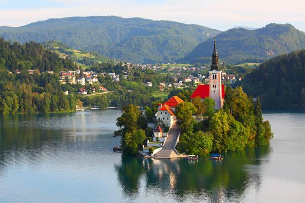 Christmas on Lake Bled